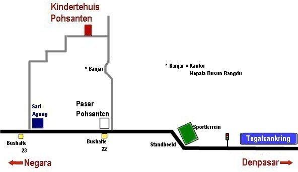 Kaart van Pohsanten